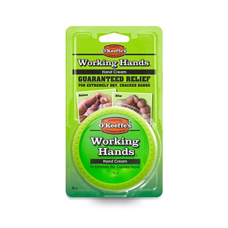O'Keeffe's Working Hands Cream Cracked Split Skin Non Greasy Hand 96g Tub