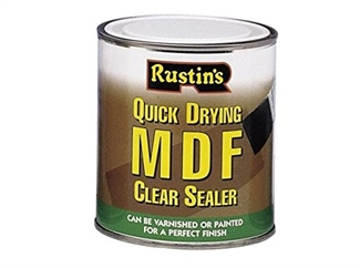 Rustins Quick Drying MDF Clear Sealer - 2 Sizes