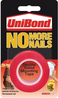 Unibond No More Nails Mounting tape