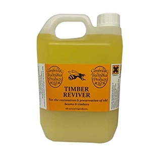 Cambridge Traditional Natural Timber Reviver Beeswax Furniture Polish