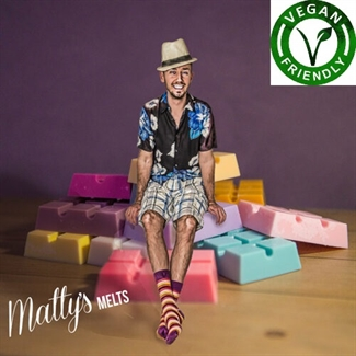 Matty's Candles® Wax Melts Premium Scented Pure Soy Eco Fragrance Vegan Snap Bars