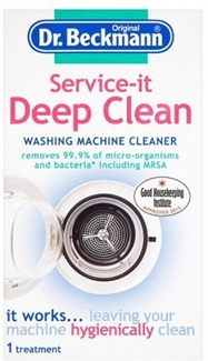 Dr Beckmann Service It Deep Clean Washing Machine Bacteria Cleaner 250g - 483552