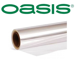 50cm Oasis Clear Cellophane Florist Film Roll