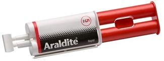 Araldite Rapid 24ml Syringe Strong Adhesive Glue Solvent Free Epoxy Power