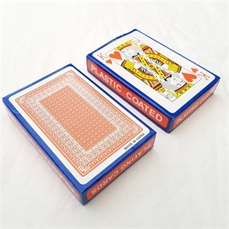 Set of 2 PLAYING CARDS - Poker Gambling Gaming Snap etc Deck Kings Queens Ace