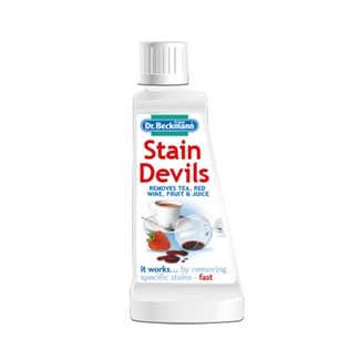 DR Beckmann's Stain Devils Tea Red Wine Juice Urine Coffee Fabric Cleaner 50ml