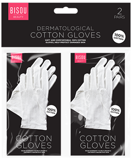 White Cotton Gloves Moisturising Eczema Butler Beauty Waiters Magician Halloween