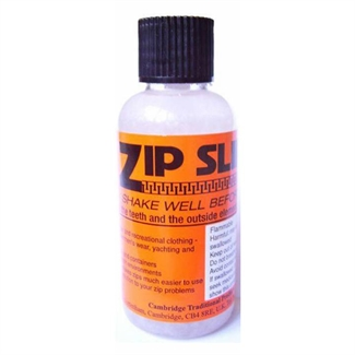Zip Slip Beeswax Zip Lubricant All Zips Including Wet & Dry Suits 50ml Bottle