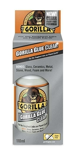 Gorilla Glue CRYSTAL CLEAR Tough Indoor/Outdoor - 110ml