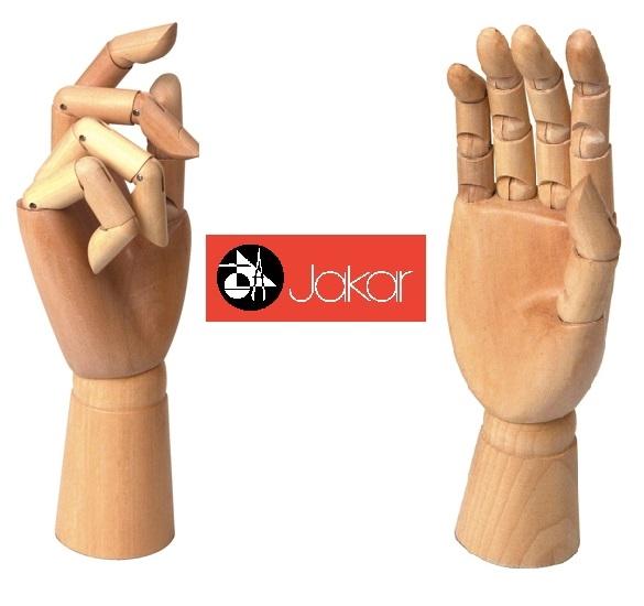 New Wooden Manikin Mannequin Moveable Adjustable Limbs Human Hand Male Artist