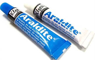 26g Araldite Standard Epoxy Adhesives Glue 2 Part Resin & Hardener Super Glues