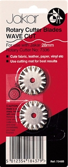 Jakar Wave Cut Blades-7348B