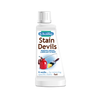DR Beckmann's Stain Devils Grease Lubricant & Paint Remover Fabric Cleaner 50ml