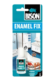 Bison Enamel Fix Repair Kit White Touch Up Lacquer Paint Sink Bath China Chip